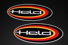 *1 Held Aufkleber Sticker Decal Autocollant Bapperl Helmet Helm Motorrad GP Race
