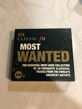 The Classic Most Wanted Classical Collection 3 Cd Tracks Greatest Artist Musical