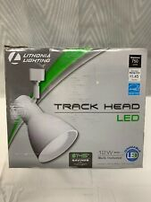 Lithonia Lighting Step Baffle 1-Light White Led Br30 Track Lighting . E5