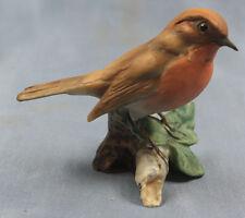 Rouge-gorges Oiseau Empereur porcelaine personnage porcelaine personnage Robin 1970