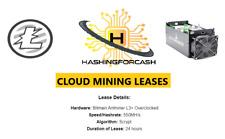1 Giorno 550MH/S Litecoin Crypto Mining Noleggio Antminer L3 Hash Server Ltc