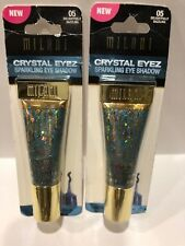 2 Milani Crystal Eyez Sparkling Eye Shadow #05 Delightfully Dazzling /2 pack