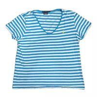 Ralph Lauren Sport Women's Striped Short Sleeve Women's T-Shirt Size XL