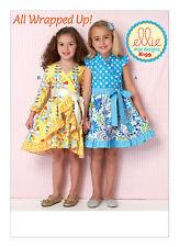 Kwik Sew SEWING PATTERN K199 Girls Dresses XXS-L Age 3-10