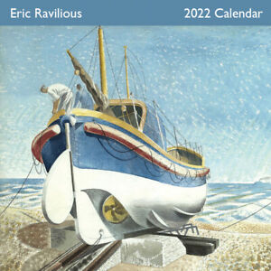 Museums & Galleries -The Art of Eric Ravilious 2022 Square Wall Calendar(CLL793)