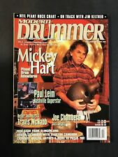 Modern Drummer Magazine April 1999 Mickey Hart