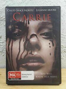 CARRIE DVD Modern Re-Make - JULIANNE MOORE - CHLOE GRACE MORTEZ - FREE POSTAGE