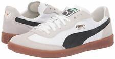 Men's Shoes PUMA SUPER LIGA OG RETRO Leather Sneakers 356999-12 WHITE / BLACK