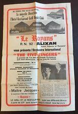 Rare Affiche vintage 43x28- LE ROYANS ALIXAN (entre Valence et Romans) - 1960?