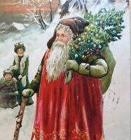 Tucks Santa Claus Christmas Postcard Series 505 Little Falls NY 1909 Vintage