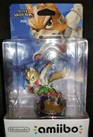 Nintendo Amiibo Fox |BRAND NEW FACTORY SEALED Super Smash Bros. StarFox