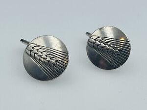 Georg Jensen Denmark Vintage Sterling Silver Cufflinks No. 78