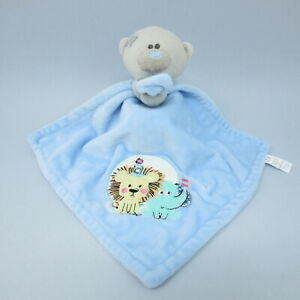 Tiny Tatty Teddy blue bear Lion Elephant comforter doudou blankie baby Me to You