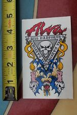 TONY ALVA Skateboards Bill Danforth Skull Dogtown Vintage Skateboarding STICKER