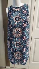 NEW ANN TAYLOR LOFT SLEEVELESS FLORAL MULTI PETITE DRESS SIZE XSP
