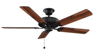HAMPTON BAY Farmington 52 in. Indoor Natural Iron Ceiling Fan
