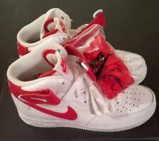 Nike Air Force 1 Mid 07 white/university red/white Gr.8,5 neu OVP Bulls NBA LTD!