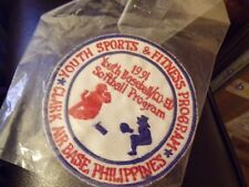 Clark Air Base, Philippines Youth Sports & Fitness Program Patch