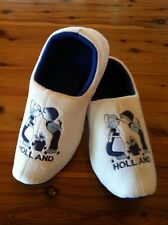 Dutch Clog Slippers / Hollandse slippers DELFT BLUE KISS & FREE GIFT WINTER SALE