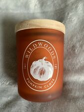 DW HOME Richly Scented Candle -  Pumpkin Clove - 3.7oz - Wooden Wick