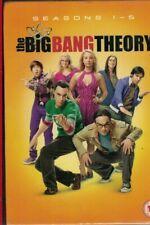 The Big Bang Theory - Series 1-5 - Complete (DVD, 2012, 16-Disc Set, Box Set)