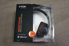 TDK WR780 Bluetooth Over Ear Headphones - Black/Gold
