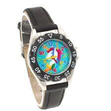 Unicorn Watch Girls Kids Watches Children's Gifts Leather Quartz Wristwatch U85B