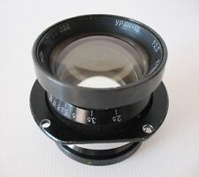 Uran-10 100mm f/2.5 telephoto military aerial lens large format 8x8cm fixed