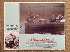 SILENCE OF THE NORTH Vintage Movie Film Lobby Card ELLEN BURSTYN TOM SKERRITT