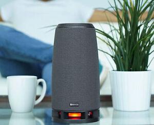 Rockville RockShip 50 Watt Portable Bluetooth Speaker w/LED Lights+Radio/USB/AUX
