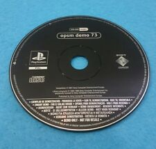 SONY PLAYSTATION 1 PS1 JUEGO PAL SOLO DISCO - OPSM  DEMO 73
