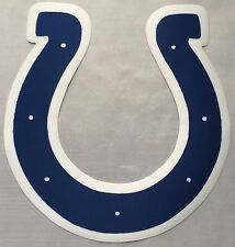 """HUGE INDIANAPOLIS COLTS IRON-ON PATCH - 7.25"""" x 7.5"""""""