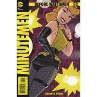 Before Watchmen: Minutemen #5 in Near Mint + condition. DC comics [*t2]