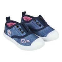 Scarpe bambina Frozen Elsa sneakers da bimba estive blu 24 25 26 27 28 29 30 31