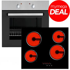 MyAppliances 60cm Electric Oven and 60cm Touch Control Ceramic Hob Pack Deal