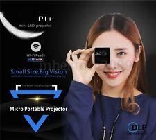 1080P HD P1 DLP Wifi LED Mini Projector Pocket Home Theater Multimedia USB/TF