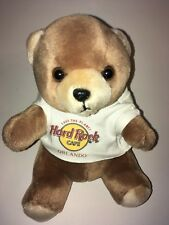 "Hard Rock Cafe Orlando Bear 9"" Plush Stuffed Animal"