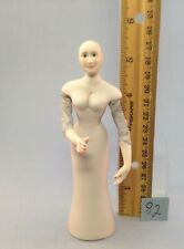 Dollhouse miniature 1/12th scale porcelain doll ready to dress  by Jan Smith #82