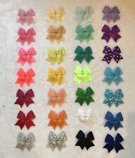 New listing 28 Pcs Diy Multi-color 3.8�Dovetail Bow Craft Party Decoration-without Clip