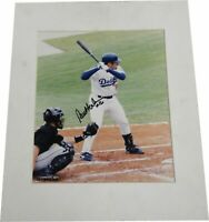 Paul Lo Duca Signed Autographed matted 8x10 Photograph LA Dodgers W/ COA