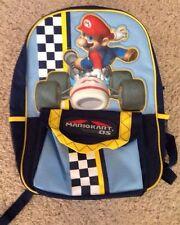 Mario Brothers Nintendo DS Blue Boys Backpack BTS Preschool Kindergarten 1st Gr