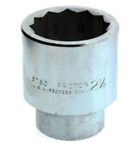 "Proto 2-1/2"" 12-point socket with 1-inch Drive 5780"