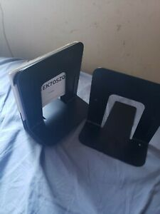 12 Metal Library Bookends Book Support Organizer Bookends Shelves Office