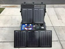 Tactical Self Contained Solar Power Generator