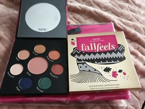 Genuine Tarte Fall Feels Eye & Cheek Palette & Bag BNIB