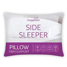 Snuggledown lato Sleeper Cuscino Bianco Supporto Stabile progettato per traverse laterali