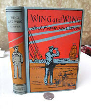 WING & WING;Or LE FEU-FOLLET,Early 20th Cent,J Fenimore Cooper