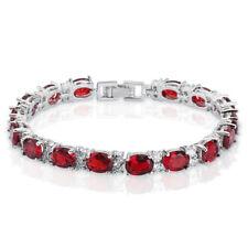 36e46ca4e4972 Cubic Zirconia Tennis Fashion Bracelets | eBay