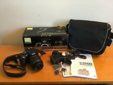 Nikon D3100 14.2MP DSLR Camera VR 18-55mm Lens Kit BOXED Just 800 Shutter Count