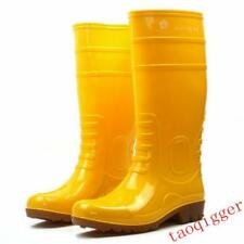 Men Knee Boots Rain Waterproof Shoes Hot Yellow Skid Casual Outdoor US Size 7-10